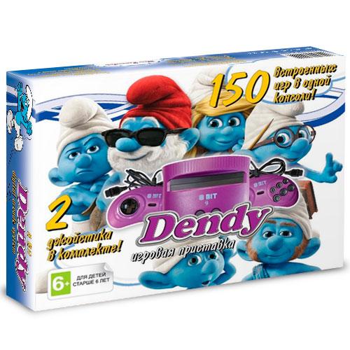 Игровая приставка Dendy Смурфики