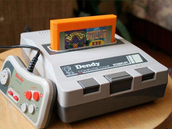 Игровая приставка Dendy Classic