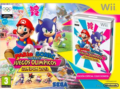 Игра Mario & Sonic для Wii