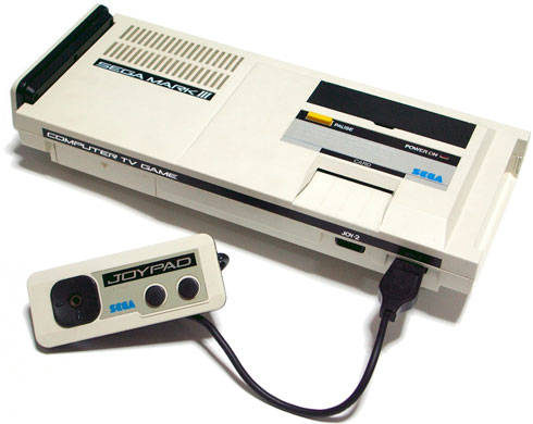 Приставка Sega Mark III / Sega Master System