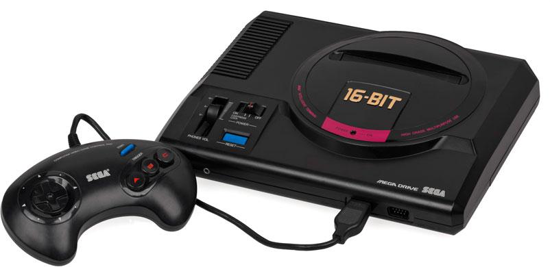 Приставка Sega Mega Drive