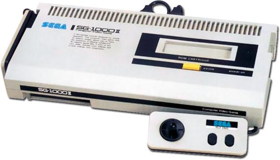 Приставка SG-1000 II