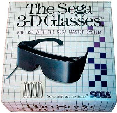 Очки 3D от Sega