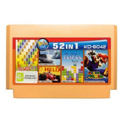 """Сборник """"Танчики, Марио + 50 игр"""" (Dendy)"""