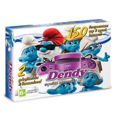 Dendy «Смурфики» + 150 игр