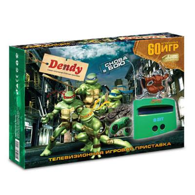 Dendy «Turtles» + 60 игр