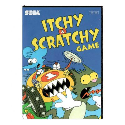 The Itchy and Scratchy Game (SEGA)
