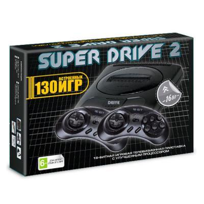 Sega Mega Drive 2 + 130 игр