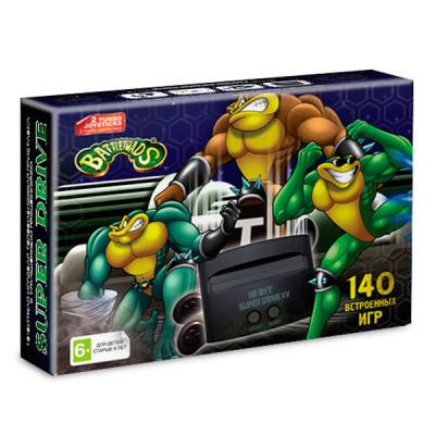 Sega Super Drive «Battletoads» + 140 игр
