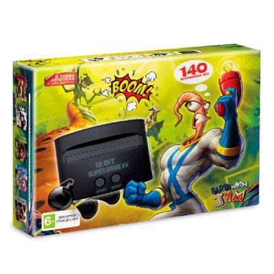 Sega Super Drive «Earthworm Jim» + 140 игр