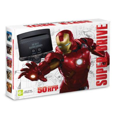 Sega Super Drive «Iron Man» + 50 игр