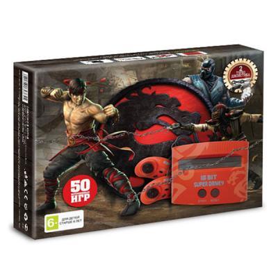 Sega Super Drive «Mortal Kombat» + 50 игр