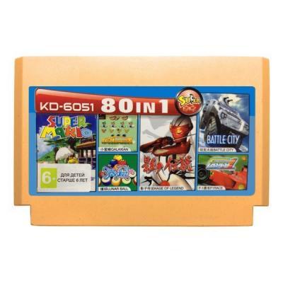 Сборник: Марио, Танчики + 78 игр (Dendy)