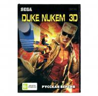 Duke Nukem 3D (Sega) лицевая сторона