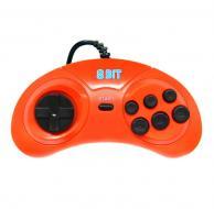 Джойстик для Dendy «Sega» оранжевый (9 пин)