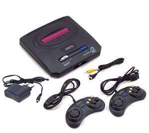 Комплектация Sega Mega Drive 2 + 105 игр