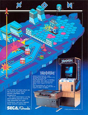 Игровой автомат Zaxxon