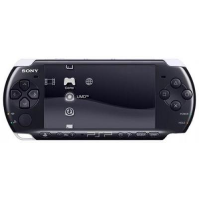 PSP (3000) Ref Of Sony Black BUZZ Brain Bender