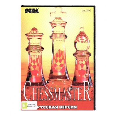 Chessmaster (Sega) лицевая сторона