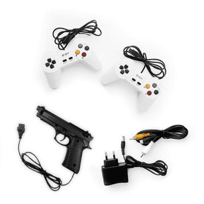 8 бит Robocop + пистолет + 80 игр