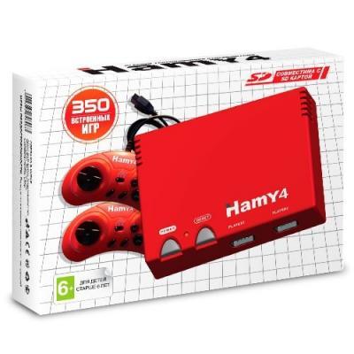 Hamy 4 «Classic» (Red) + 350 игр
