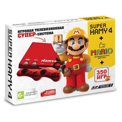 Hamy 4 «Mario» + 350 игр