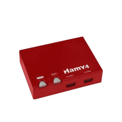 Hamy 4 «Classic» (Red) + 350 игр