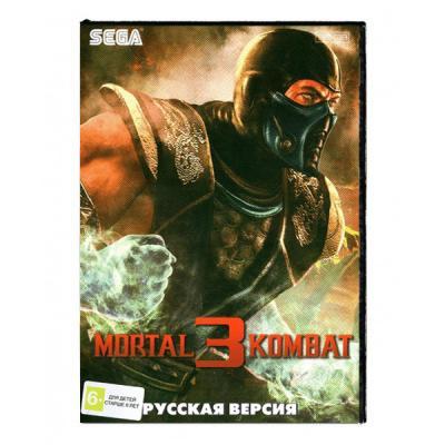 Mortal Kombat 3 (Sega) лицевая сторона