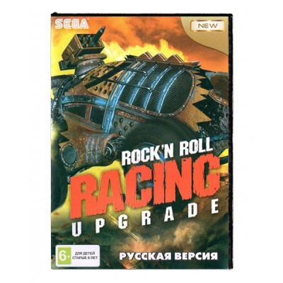 Rock'n Roll Racing (Sega) лицевая сторона картриджа