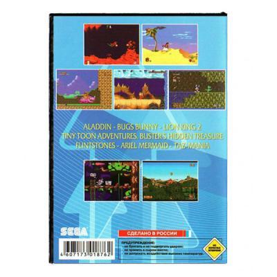 Сборник 7 игр в 1 Sega задняя сторона