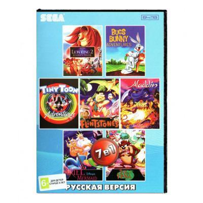 Сборник 7 игр в 1 Sega лицевая сторона