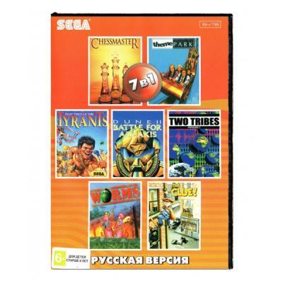 Сборник стратегий 7 в 1 (Sega) лицевая сторона