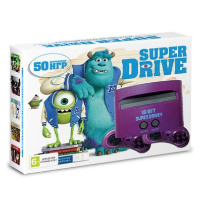Sega Super Drive «Корпорация Монстров» + 50 игр