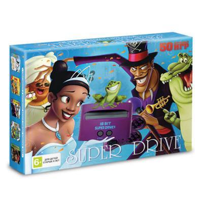 Sega Super Drive «Принцесса и лягушка» + 50 игр