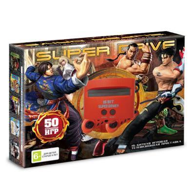 Sega Super Drive «Tekken» + 50 игр