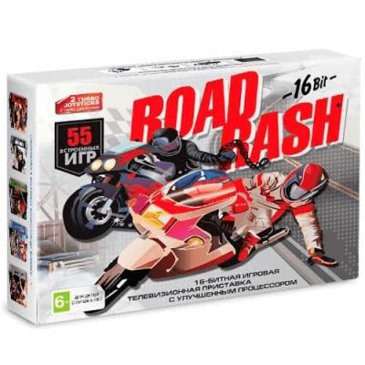Sega Super Drive Road Rash + 55 игр