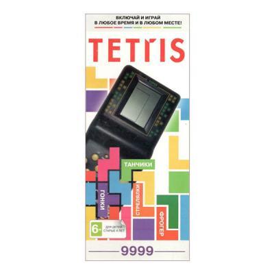 Тетрис 9999 игр, черный