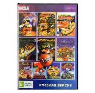 Сборник для Сеги 15 игр в 1 картридже (15в1) №1 Детский Сборник