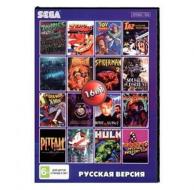 Сборник для Сеги 16 игр в 1 картридже (16в1) №1 Мужской сборник