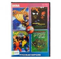 Сборник для Сеги 4 игры в 1 картридже (4в1) №4