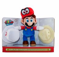 Мягкая игрушка Mario Марио со шляпами