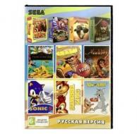 Сборник 10 игр в 1 картридже (10в1) №1 Детский Сборник