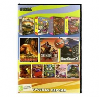 Сборник для Сеги 12 игр в 1 картридже (12в1) Микс жанров