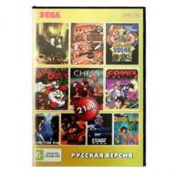 Сборник для Сеги 21 игр в 1 картридже (21в1) №2