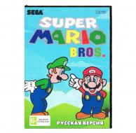 Super Mario Bros (Sega) лицевая сторона