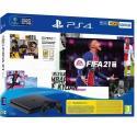 Игровая Приставка РlayStation 4 Slim (500Gb)+PS 4 Controller Wireless Dual Shock (G2) Black+FIFA21