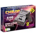 8bit Сюбор Black 440 игр + пистолет